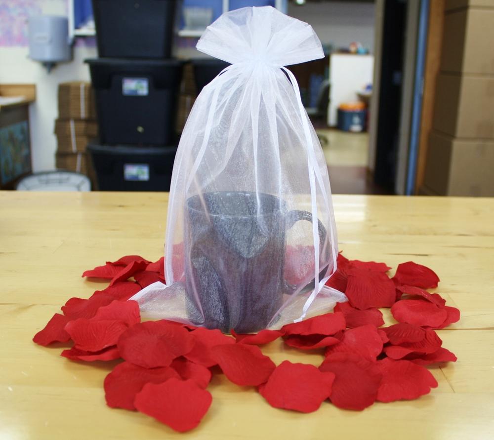 8x12 Organza Bag Bag812