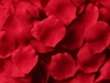 Red silk rose petals - Value Pack of 1,000