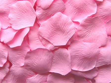 Cotton Candy silk rose petals - Value Pack of 1,000