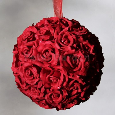 Kissing Ball by Petal Garden, 12 inch